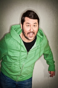 Doug Benson of Doug Loves Movies (and future show Doug Loves Roller Coasters)