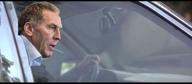 colangelo in the car